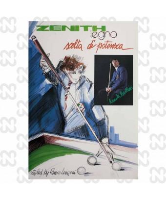 POSTER ZENITH BELLUTO ANNI 80 DA COLLEZIONE