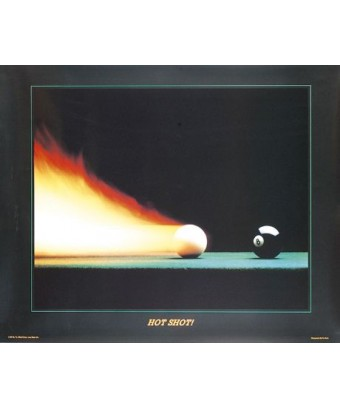 POSTER HOT SHOT cm. 77X62