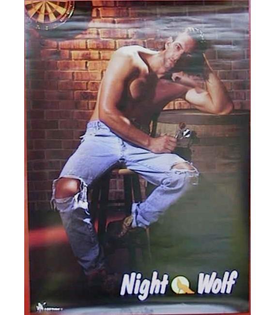 POSTER NIGHT WOLF