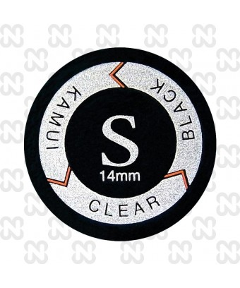 CUOIO KAMUI CLEAR NERO SOFT 14 - LAMINATO -ORIGINALE