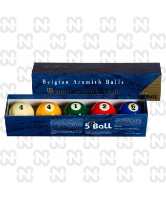 BILIE SET SUPER ARAMITH '5 BALL' 61,7 MM