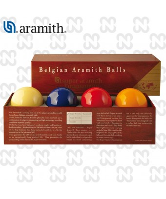 BILIE SET CARAMBOLA SUPER ARAMITH TOURNAMENT 4 BILIE, 61,5 mm