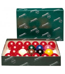 BILIE SET SNOOKER ARAMITH 0 52,4 MM - STD