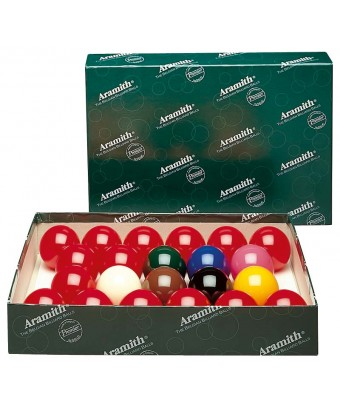 BILIE SET SNOOKER ARAMITH 54 MM - STD