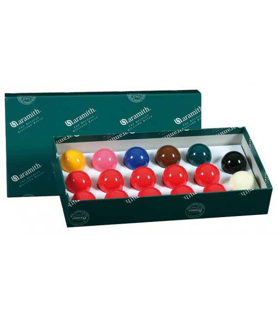 BILIE SET SNOOKER ARAMITH 41,3 MM - STD