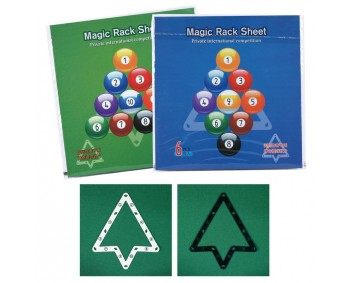 MAGIC RACK SHEET - SET DI 6 TRIANGOLI DA APPOGGIO