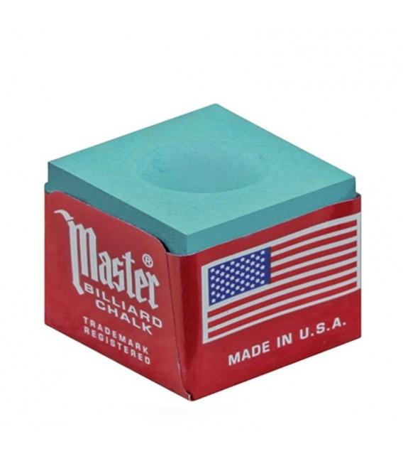 GESSETTO MASTER Verde BOX 12pcs. biliard Chalk