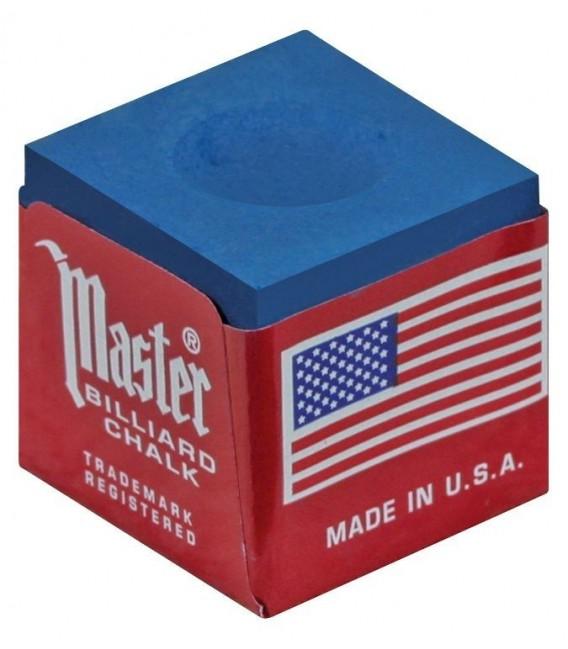 GESSETTO MASTER BLU BOX 12 pcs. biliard Chalk