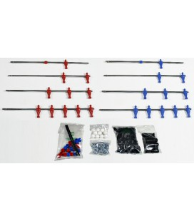 KIT COMPLETO A/R LASER ROSSO/BLU CLASSIC