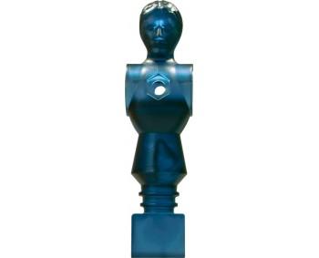 OMETTO 'SPACE-MAN' BLU TRASPARENTE 16 mm.
