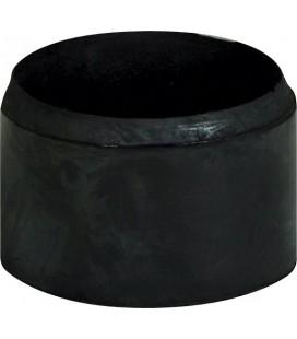 PIEDINO ROTONDO PER CALCETTO IN GOMMA - diam. 8cm / h 5cm