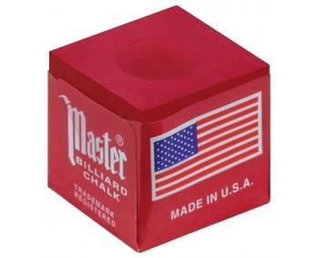 GESSETTO MASTER ROSSO BOX 12pcs. biliard Chalk