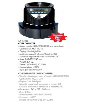 CONTAMONETE COIN COUNTER