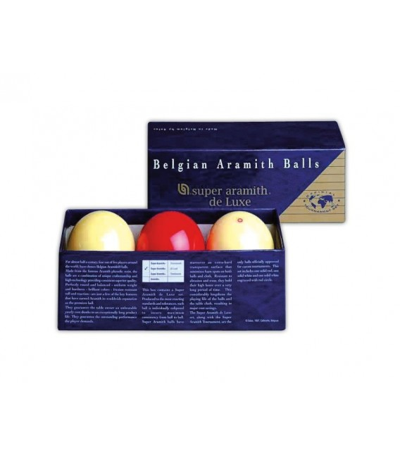 BILIE SET CARAMBOLA SUPER ARAMITH DELUXE 61,5 mm