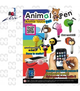 CAPSULA 69mm ANIMAL PEN (set da 100 pz.)