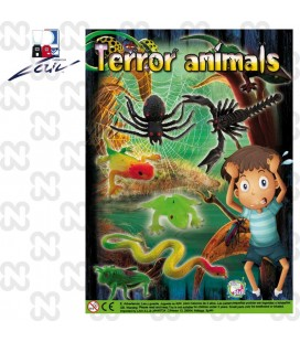 CAPSULA 69mm TERROR ANIMALS (set da 100 pz.)