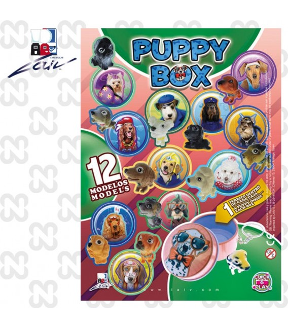 CAPSULA 69mm PUPPY BOX (set da 100 pz)