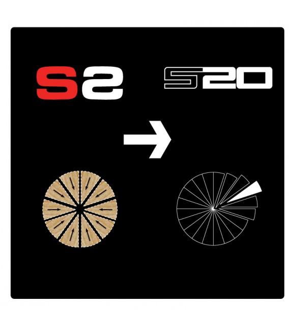 UPGRADE DA S2 A S20 (PER SINGOLA PUNTA)