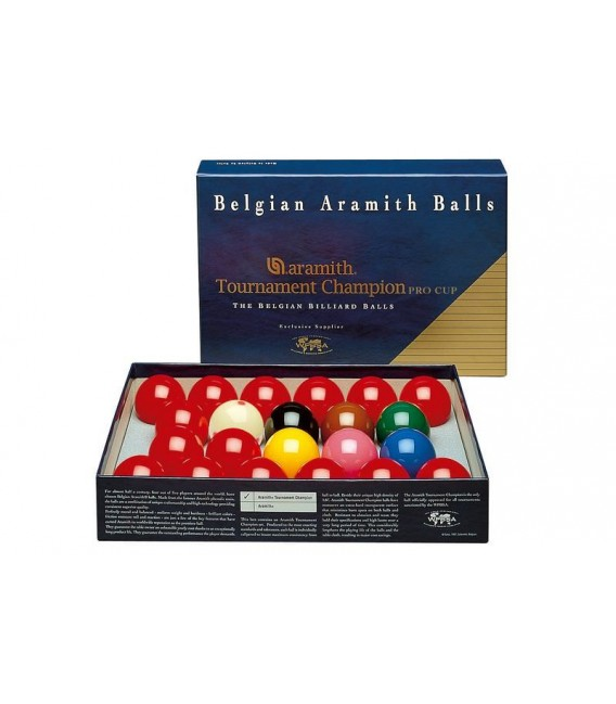 BILIE SET SNOOKER ARAMITH PRO-CUP 52,4 MM