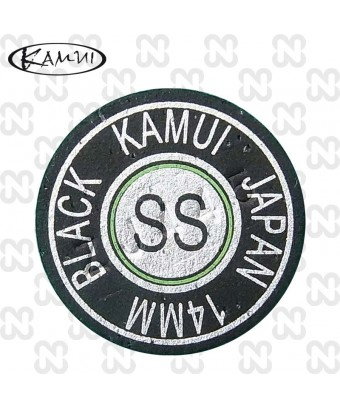CUOIO KAMUI NERO SUPER SOFT 14 - LAMINATO- ORIGINALE