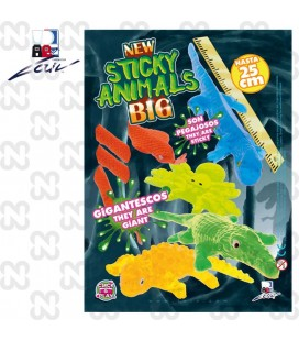 CAPSULA 69MM STICKY ANIMALS BIG (set da 100 pz.)